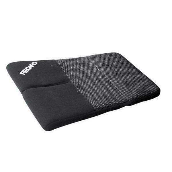 Flat seat cushion - Velour black for Pro Racer SPG & SPA HANS (ca. 25 mm)