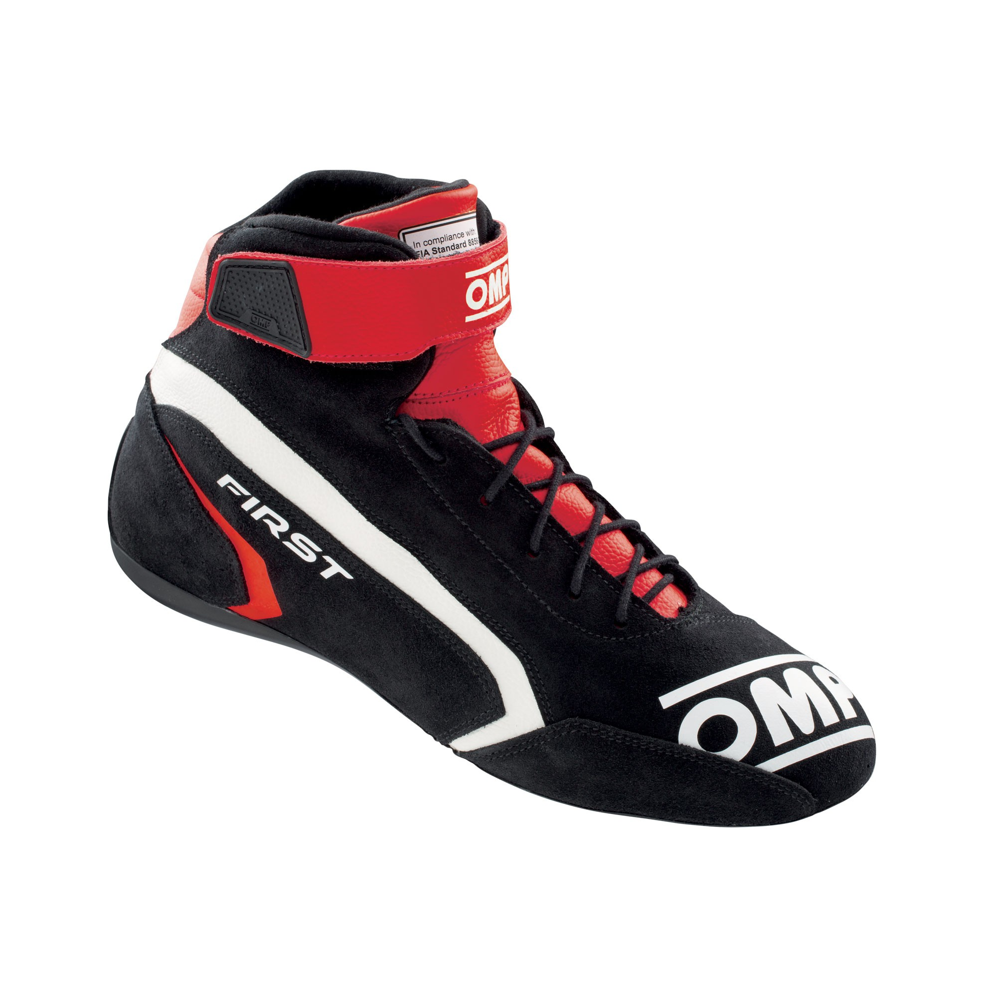 FIRST SHOES my2021 RED/BLACK TG. 37 FIA 8856-2018
