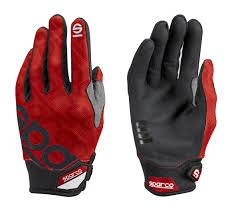 GLOVES MECA-3 SIZE S RED