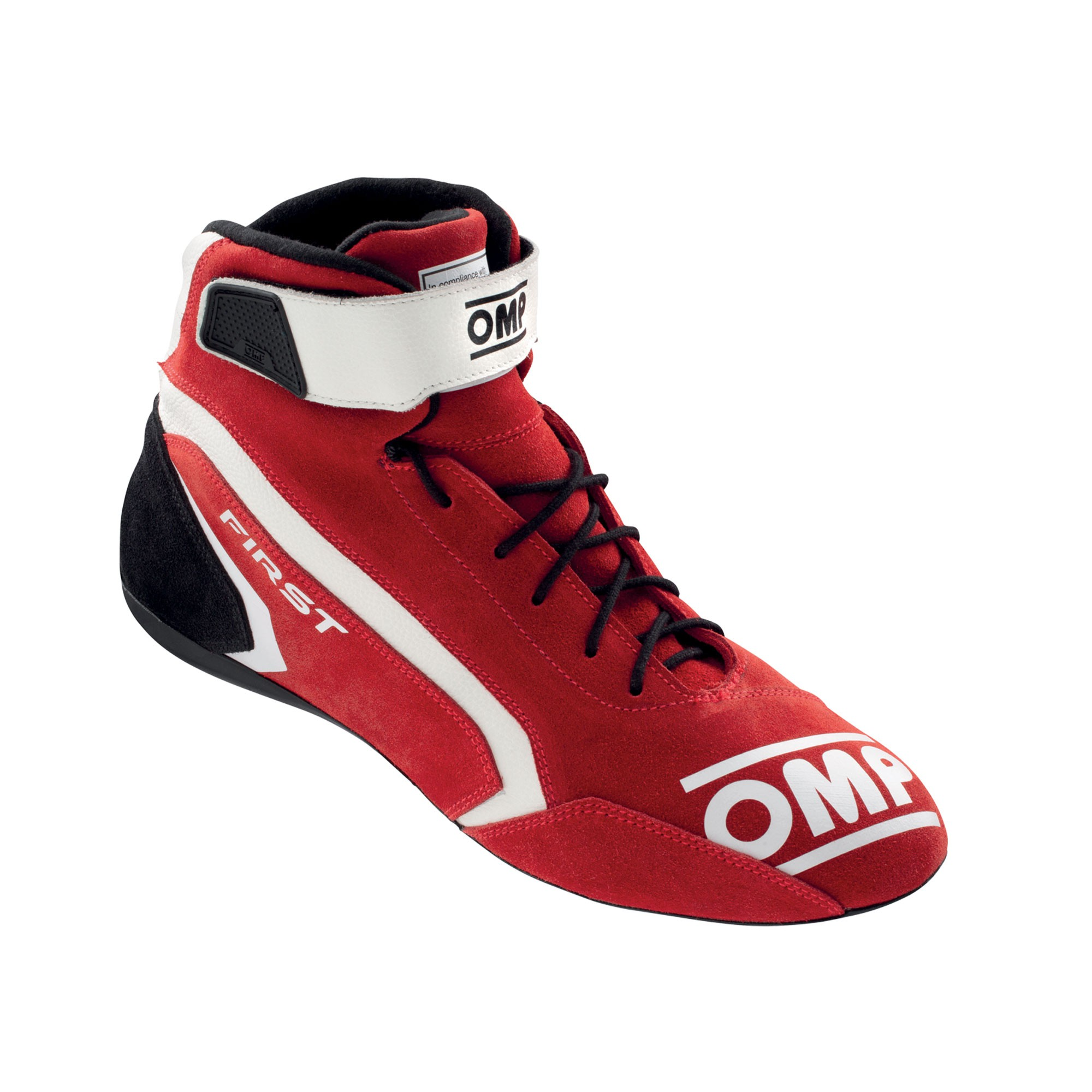 FIRST SHOES my2021 RED TG. 37 FIA 8856-2018