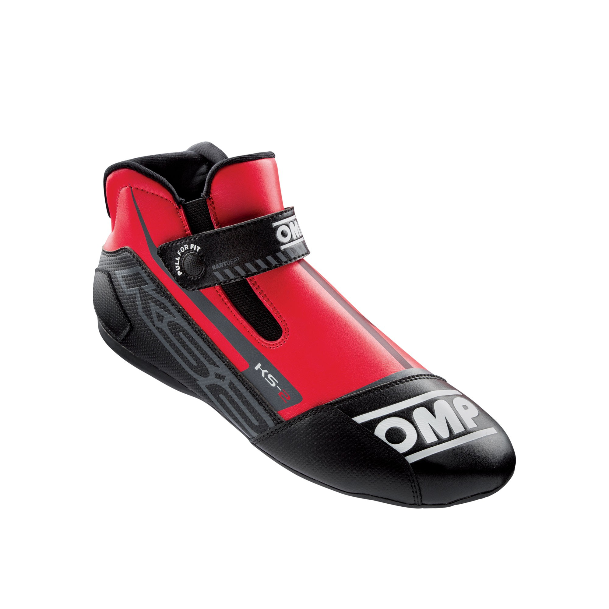 KS-2 SHOES my2021 RED/BLACK SIZE 32