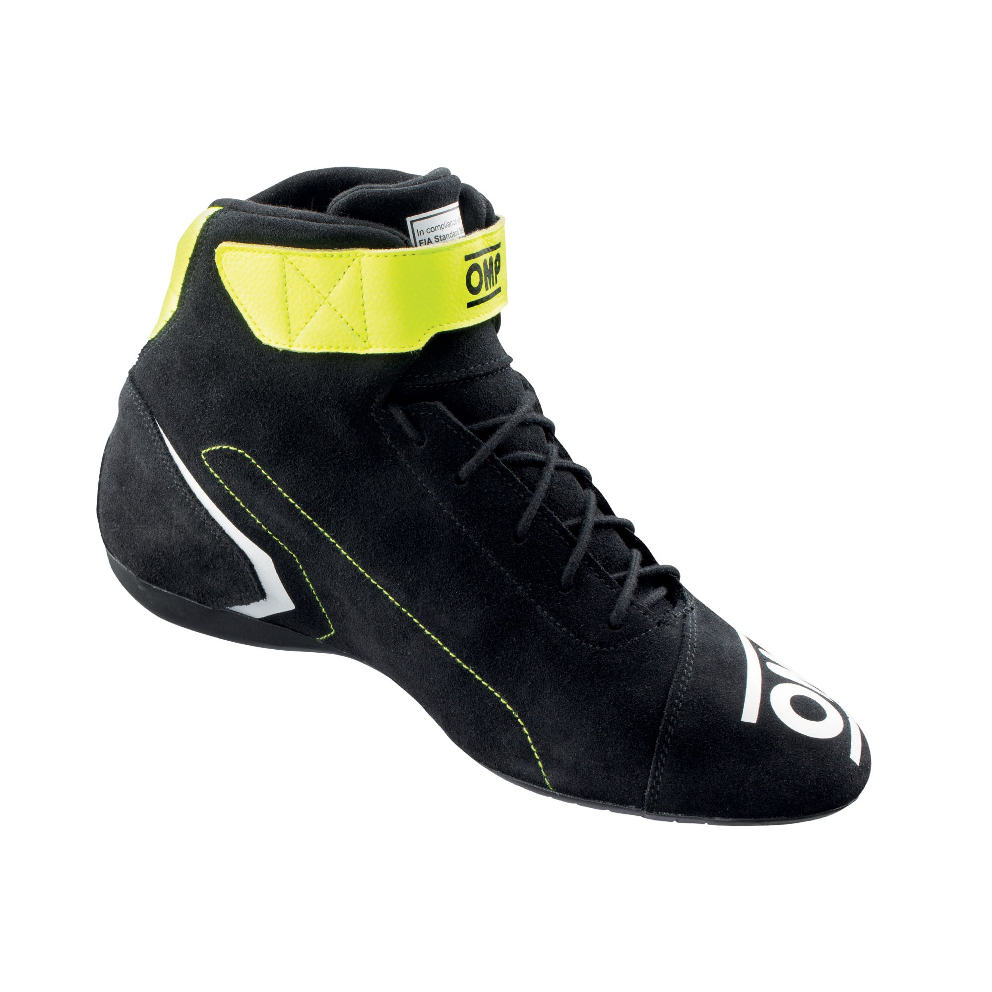FIRST SHOES my2021 ANTHRACITE/FLUO YELLOW TG. 37 FIA 8856-2018