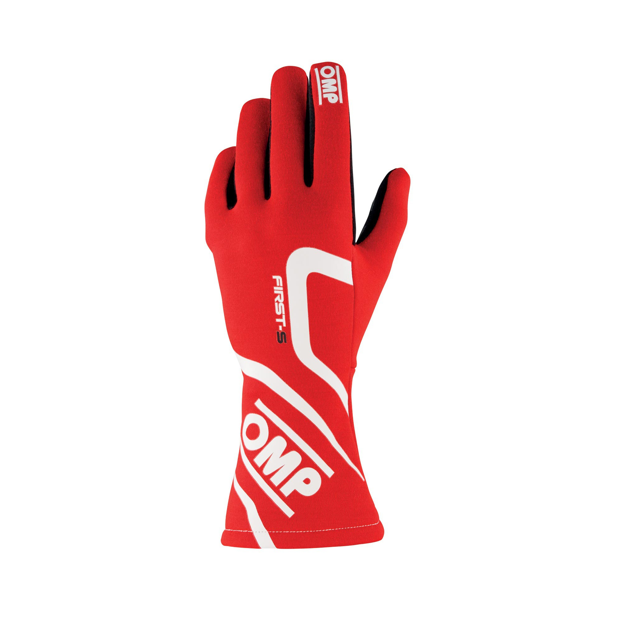 FIRST-S GLOVES RED SIZE L FIA 8856-2018