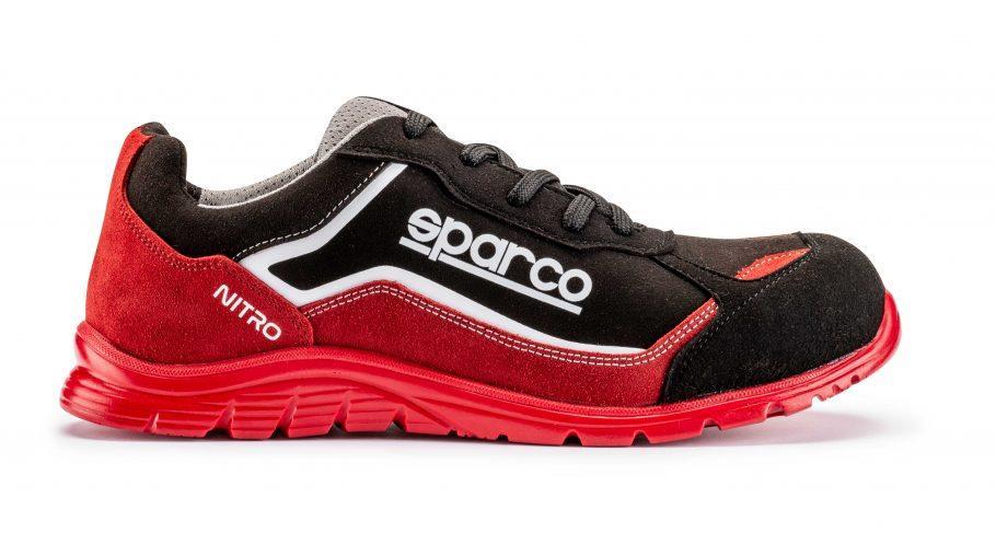 SHOES NITRO S3 RED/BLACK SZ 36