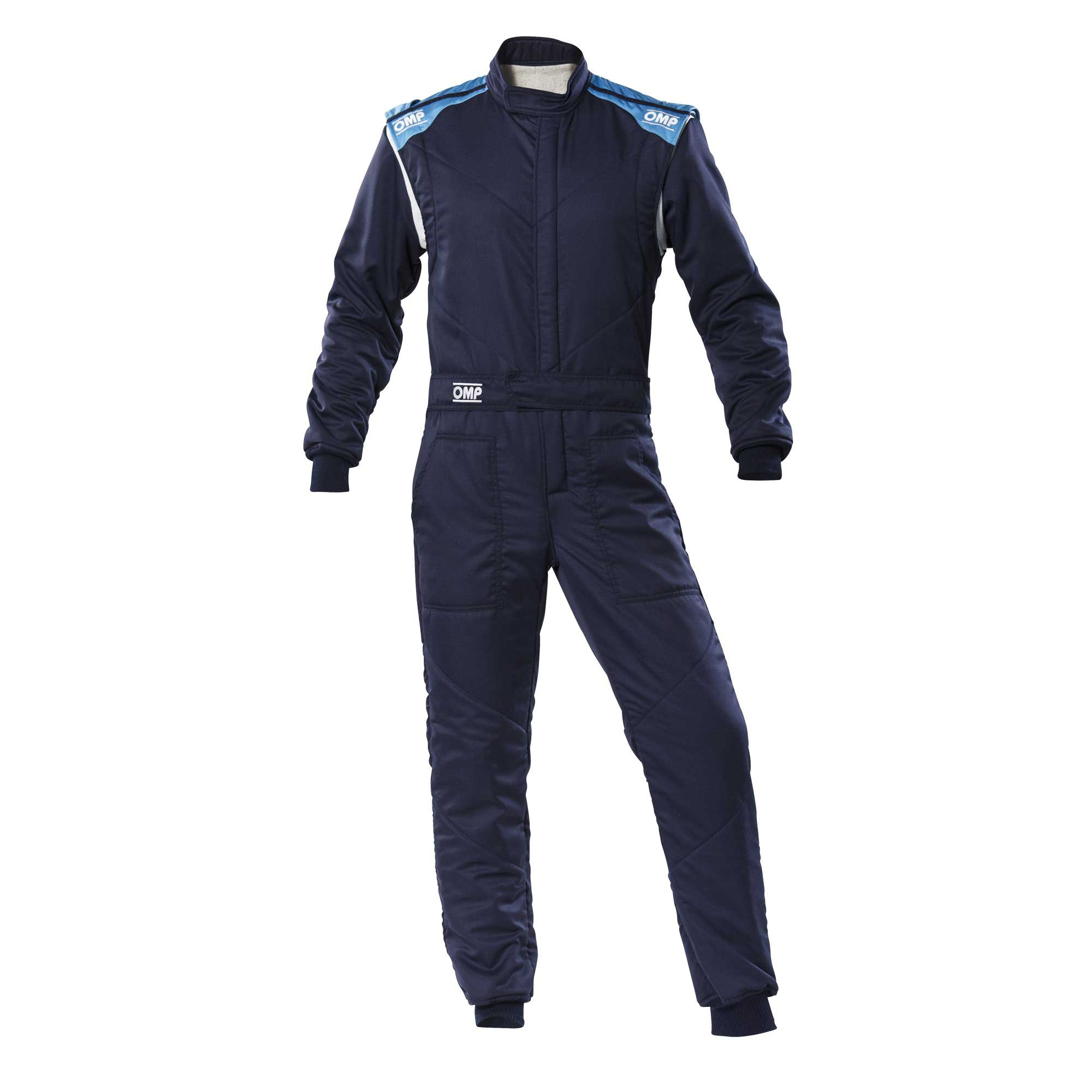 FIRST-S OVERALL NAVY BLUE/CYAN SIZE 44 FIA 8856-2018