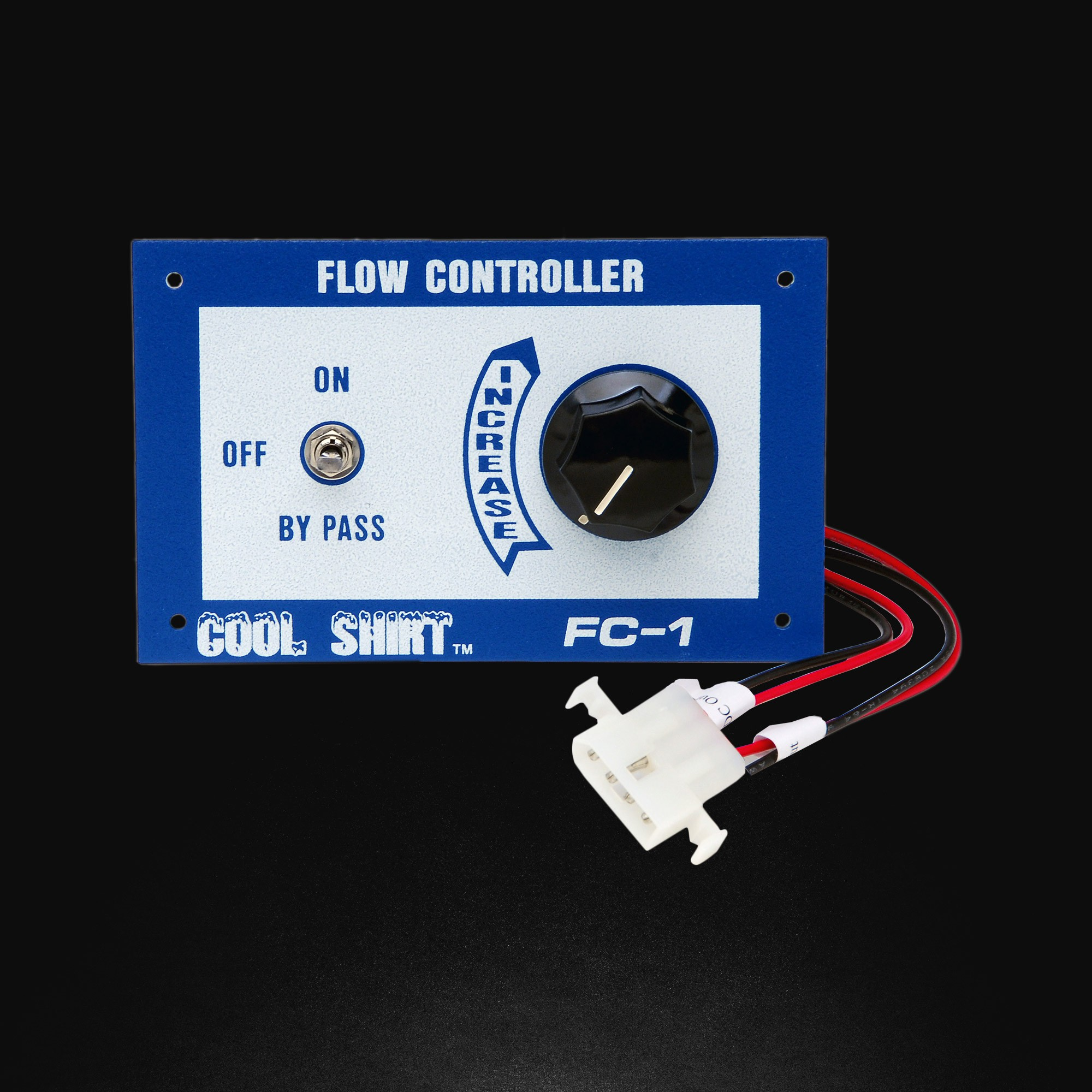 FLOW CONTROLLER FOR COOL SHIRT
