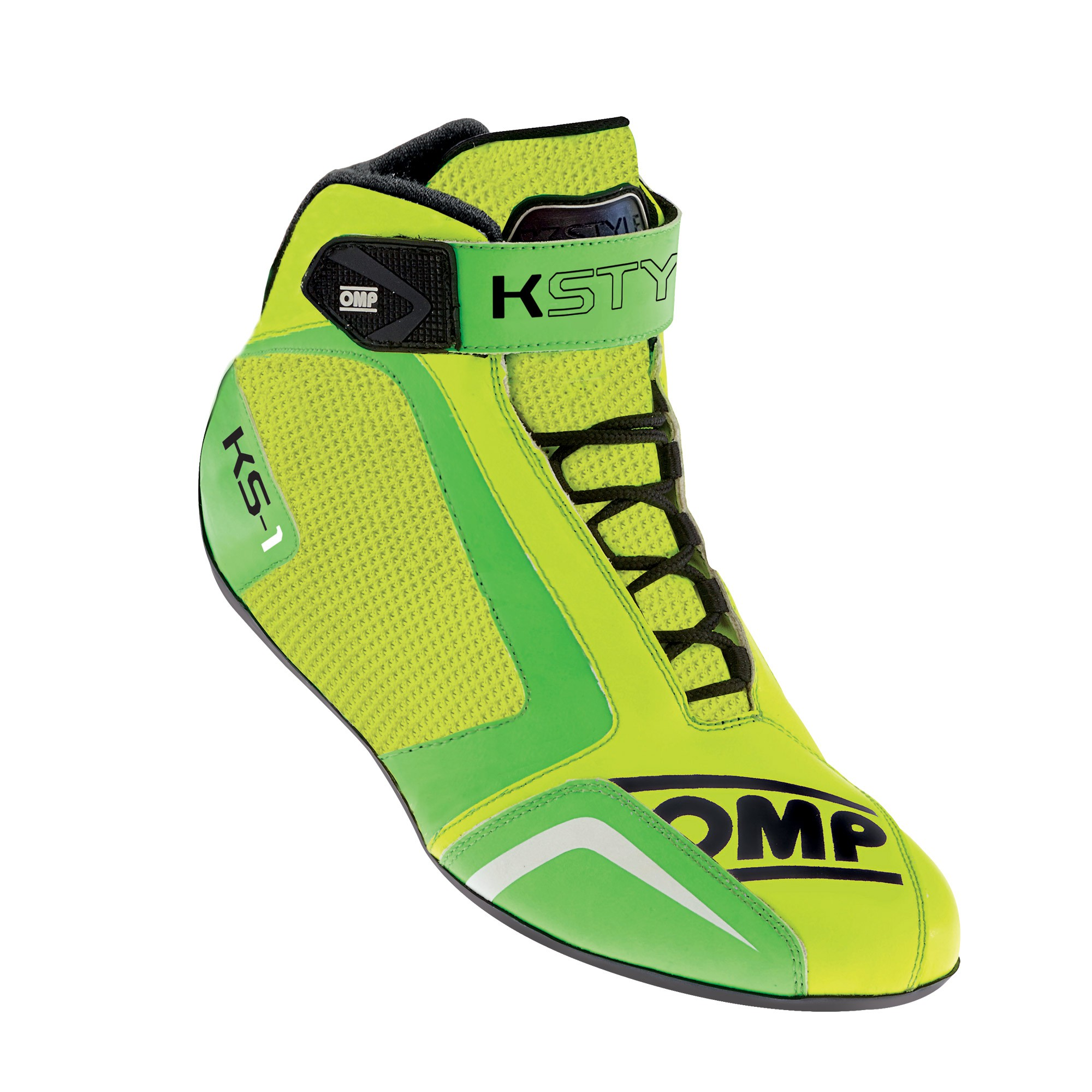 KS-1 SHOES YELLOW/GREEN SIZE 32