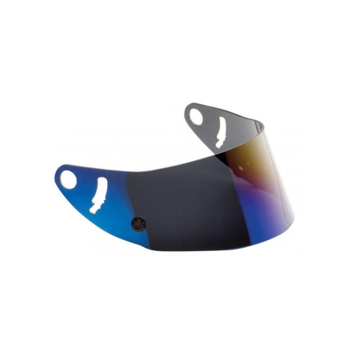 IRIDIUM BLUE VISOR FOR GP8 EVO HELMETS