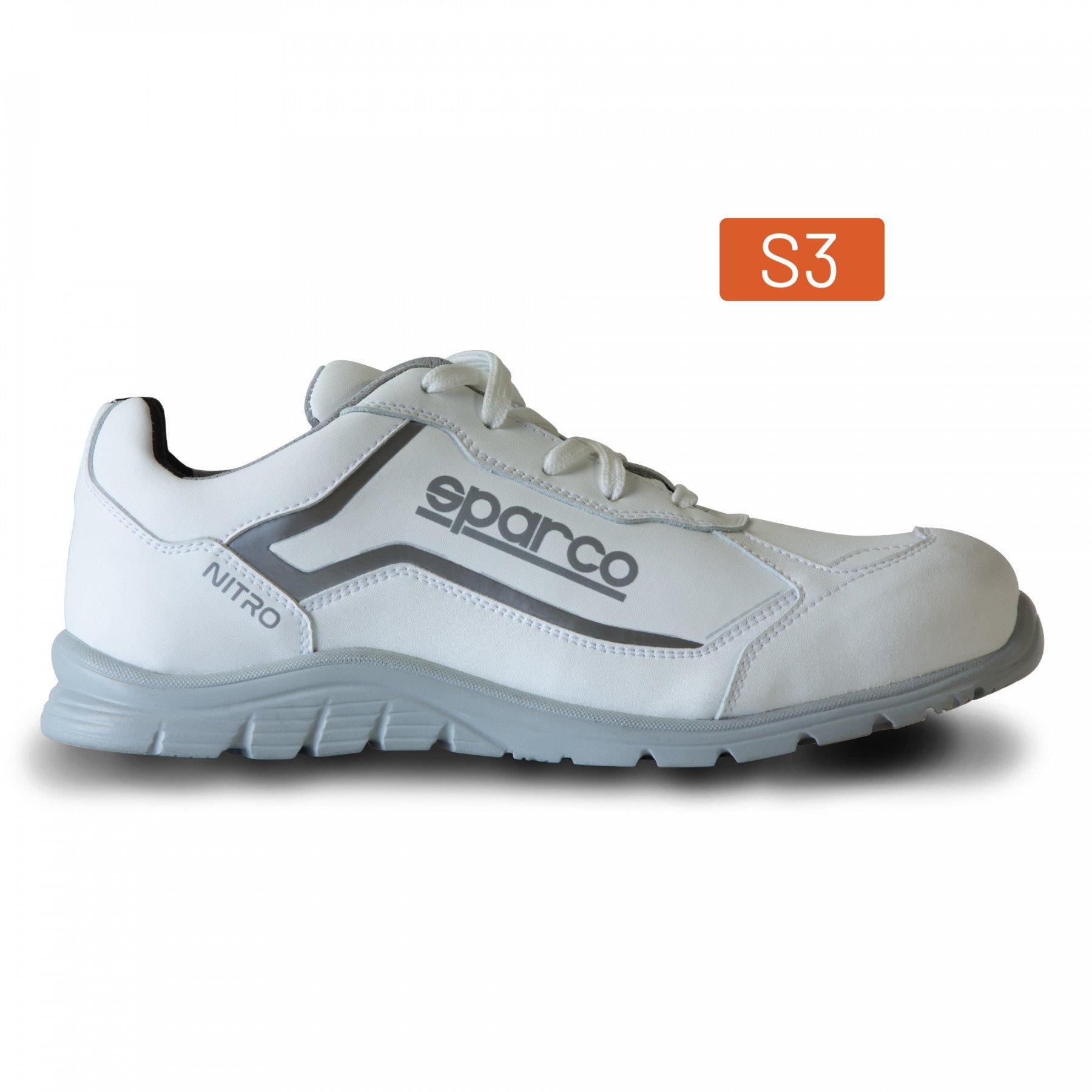 SHOES NITRO S3 WHITE/WHITE SZ