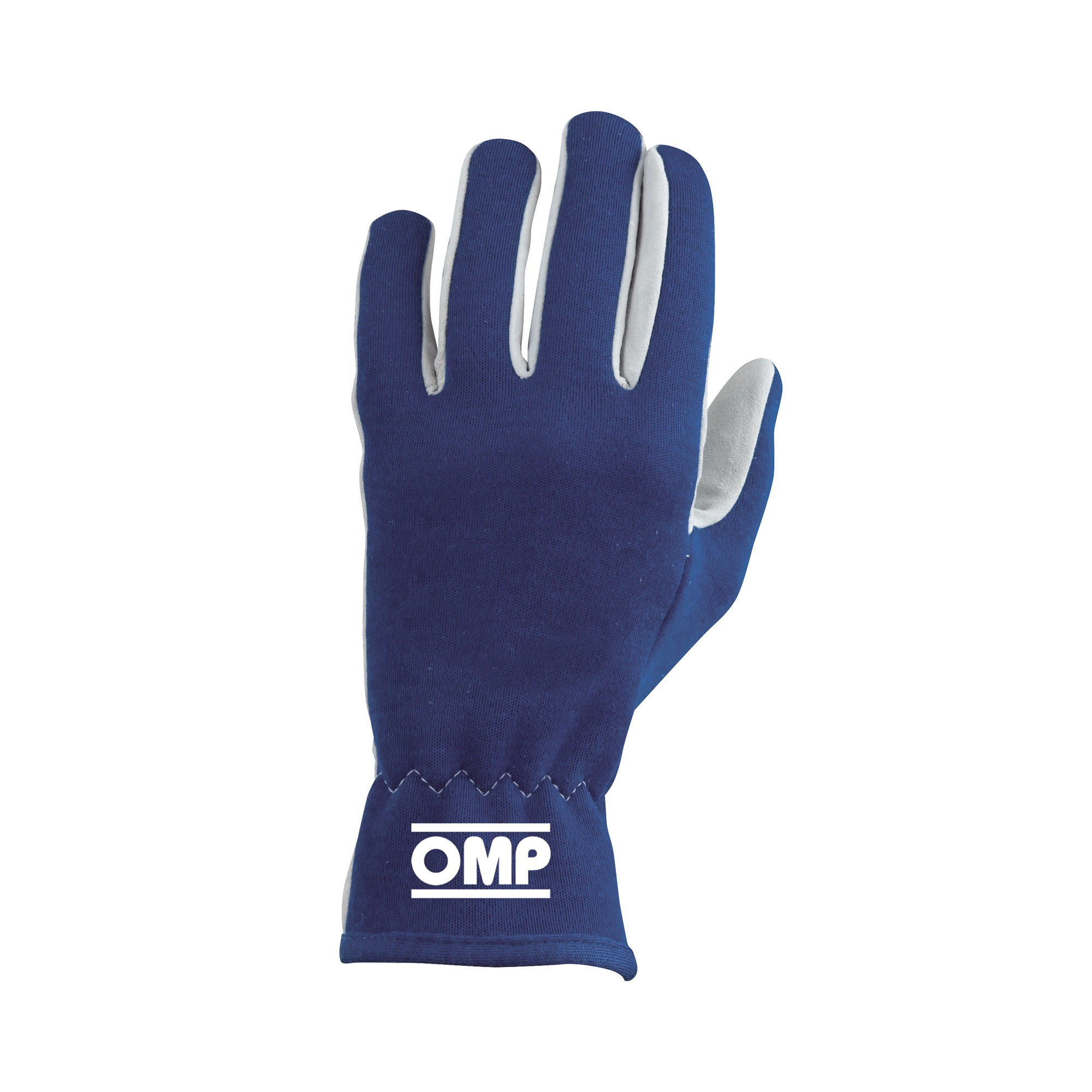 BLUE RALLY GLOVES SIZE L