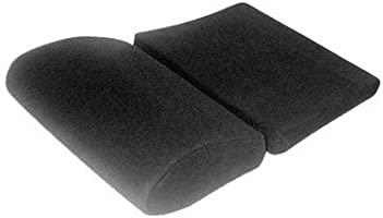 Partitioned seat cushion - Velour black for Pole Position N.G. (FIA)