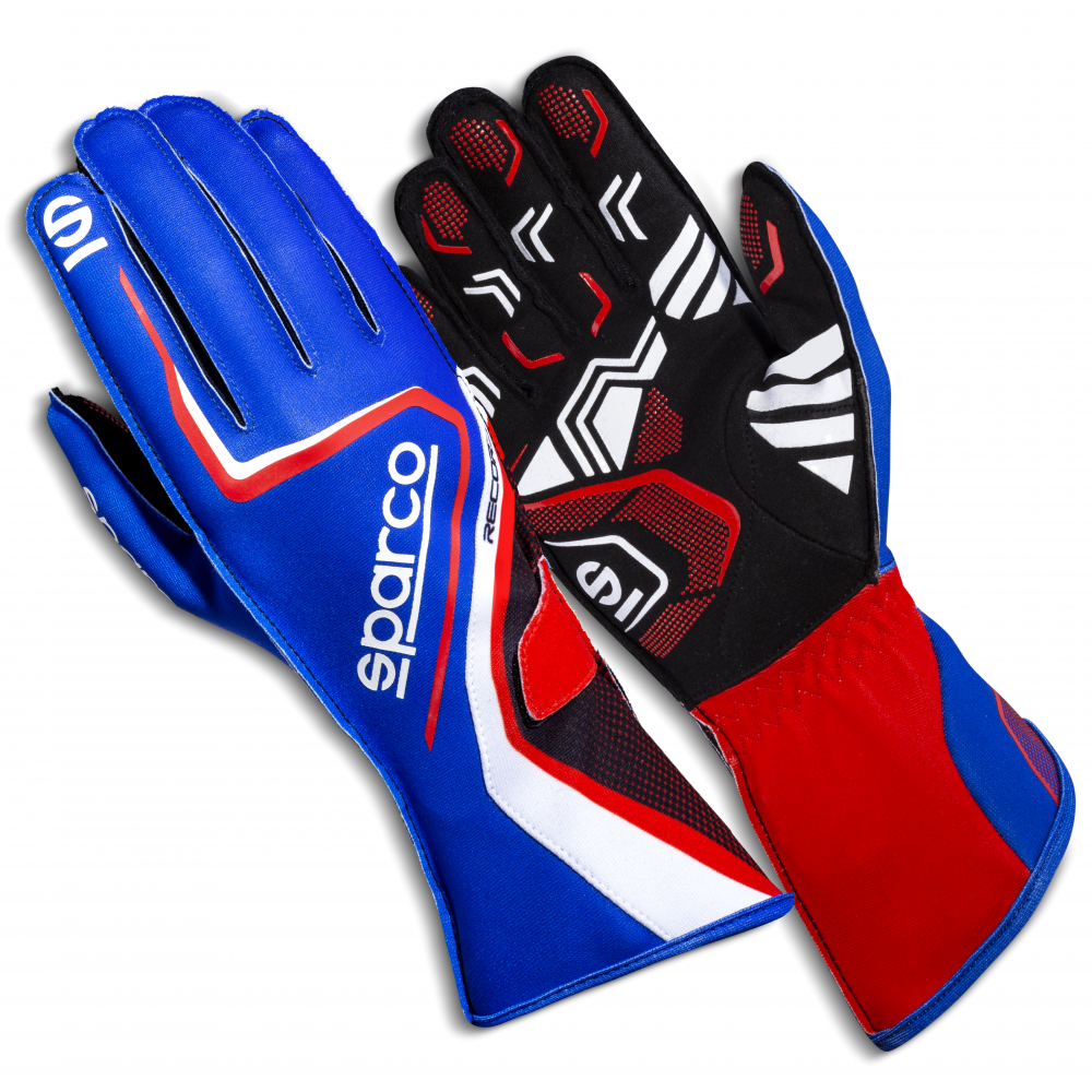 GLOVES RECORD 2020 SZ07 BLUE/R