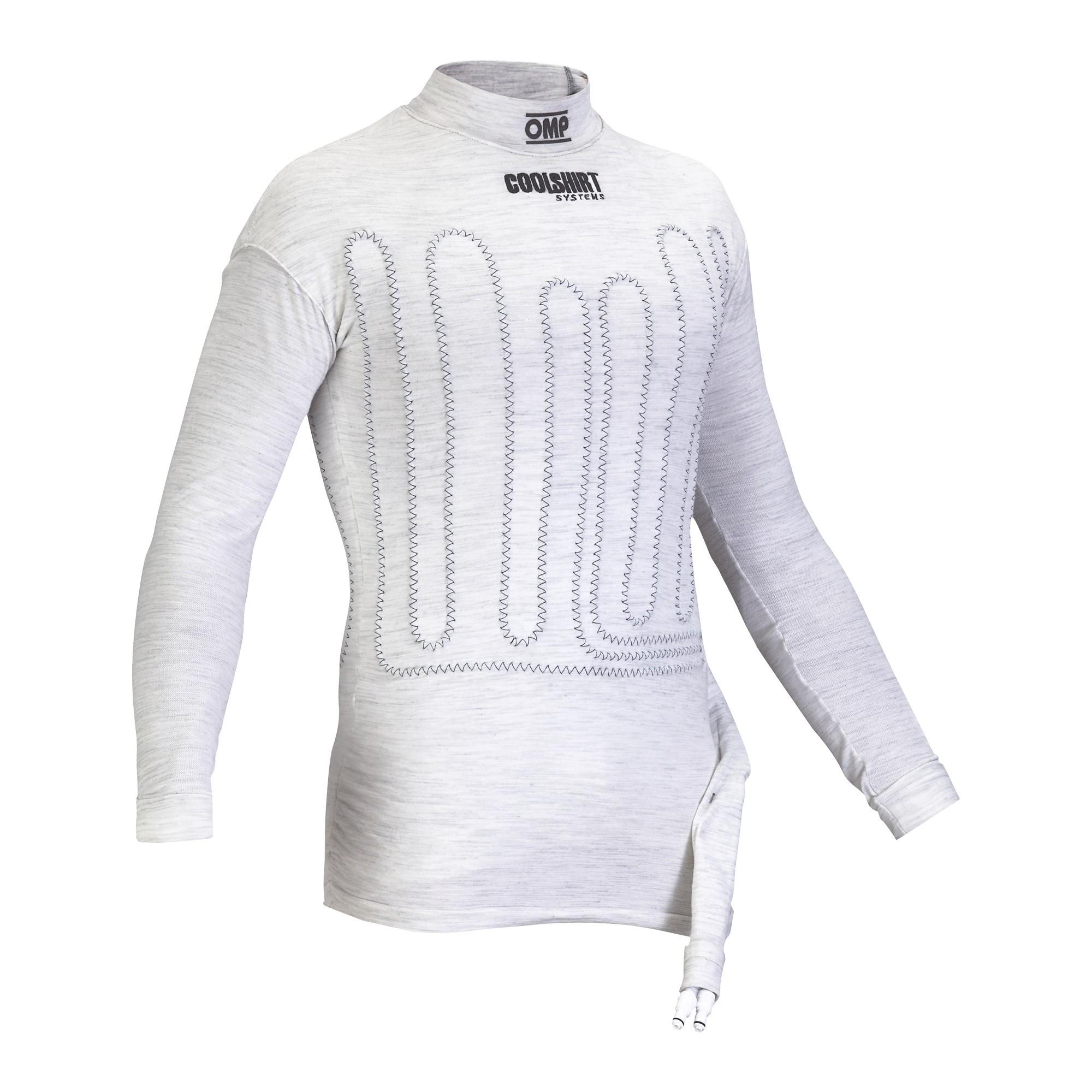 COOL SHIRT FIA TOP MEDIUM (M/L) WHITE