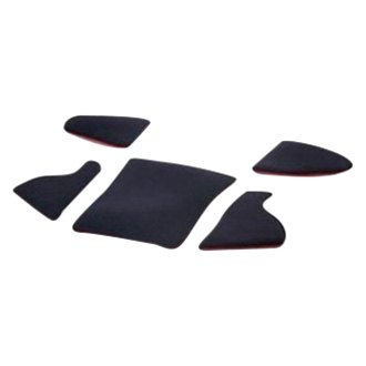 Pad-Kit L for P 1300 GT Bottom part red (set of 5, without seat cushion)