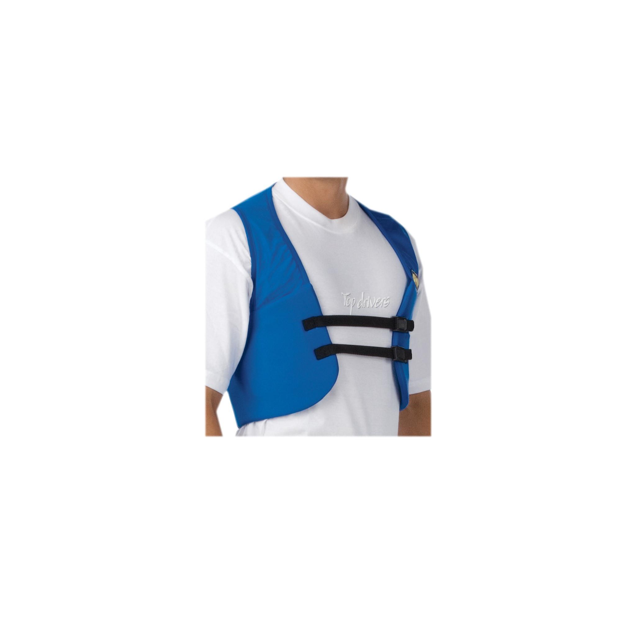 RIB PROTECTION WAISTCOAT SIZE:LARGE BLUE ROYAL
