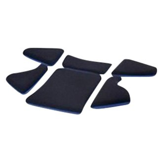 Pad-Kit S for P 1300 GT Bottom part blue (set of 6, without seat cushion)