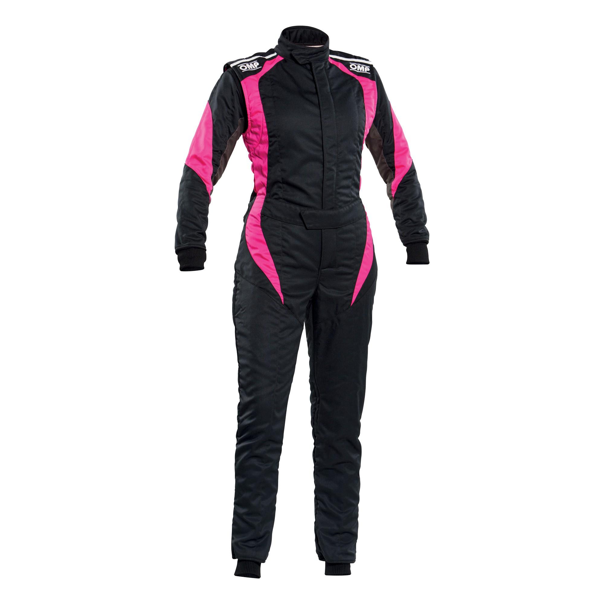 FIRST ELLE OVERALL BLACK/FUCHSIA SZ. 38 FOR WOMEN - FIA 8856-2018