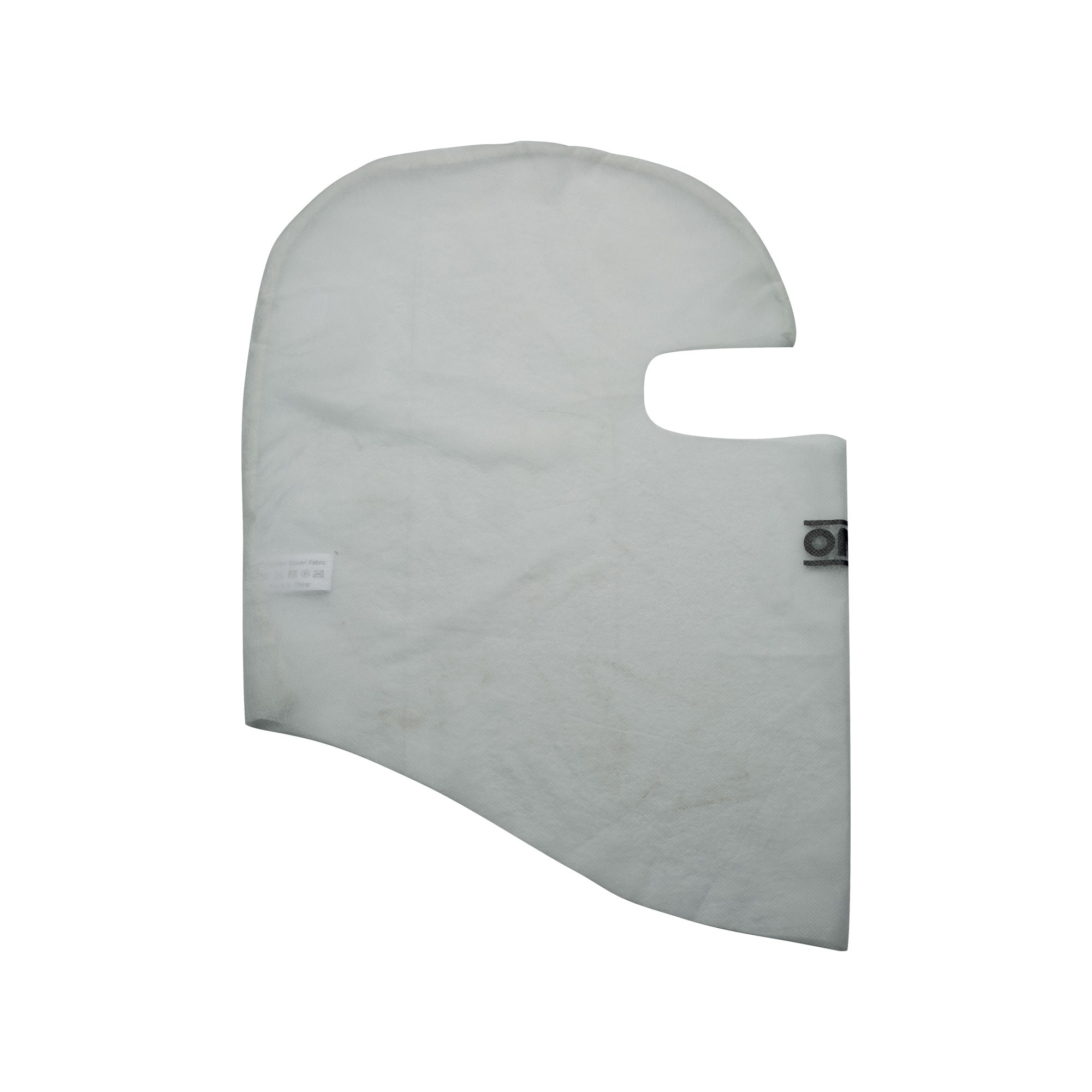 BALACLAVA WHITE ONE SIZE TISSUE TNT BAGS 25 PIECES